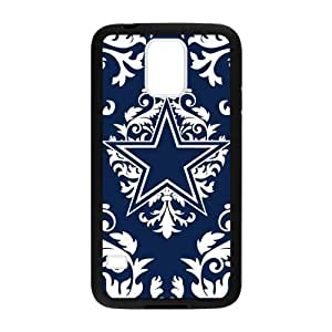 XiFu*MeiHoomin Damask Pattern Dallas Cowboys Samsung Galaxy S5 Cell Phone Cases Cover Popular Gifts(Laster Technology)XiFu*Mei