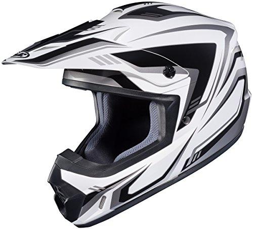 HJC CS-MX 2 Helmet - Edge (XX-LARGE) (WHITE/BLACK)