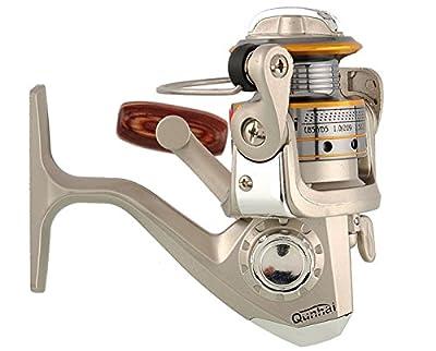 Hengjia FR030 Light Weight Left/right 5.1:1 Gear Ratio Metal Spinning Fishing Reels 6 Ball Bearings Fishing Reels Freshwater/saltwater
