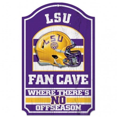 (WinCraft NCAA Louisiana State University Wood Sign, 11