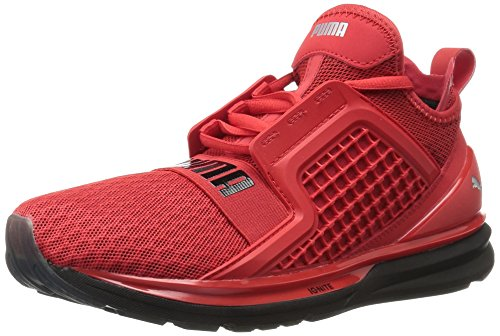 PUMA Men's Ignite Limitless Cross-Trainer Shoe, High Risk Red, 6 M US 18949503