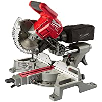 Milwaukee M18 FUEL 18-Volt Lithium-Ion Brushless Cordless 7-1/4 In. Dual Bevel Sliding Compound Miter Saw Kit with Extra Blade