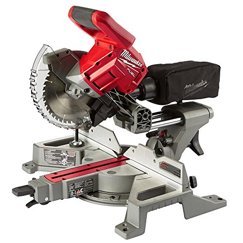 2733-20 M18 Fuel, 7-1/4″, Dual Bevel, Sliding, Compound Miter Saw