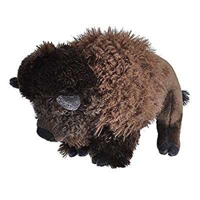 Wild Republic Bison Plush, Stuffed Animal, Plush Toy, Gifts for Kids, Cuddlekins 12 Inches: Wild Republic: Toys & Games