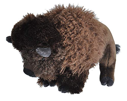 Wild Republic Bison Plush, Stuffed Animal, Plush Toy, Gifts for Kids, Cuddlekins 12 Inches ()