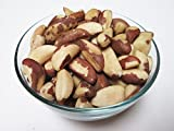 Raw Brazil Nuts (Whole, Shelled, Unsalted, Natural), 1 LB