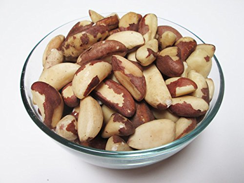 Raw Brazil Nuts (Whole, Shelled, Unsalted, Natural), 5 LB