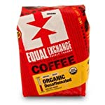 Equal Exchange Organic Ground Coffee, Decaf, 12-Ounce Bag (Pack of 3) 2 Contains 3 bags, 12 oz per bag (36 oz) TASTE: Organic Decaffeinated Ground Full-Bodied Coffee with a Balanced Flavor of Sweet Nutty & Vanilla ROAST: Full City Roast Blend
