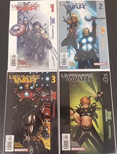 Ultimate War #1-4 Full Set Complete Run Near Mint Marvel Comics Lot 2003 CBX17