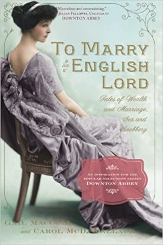 Image result for to marry an english lord book