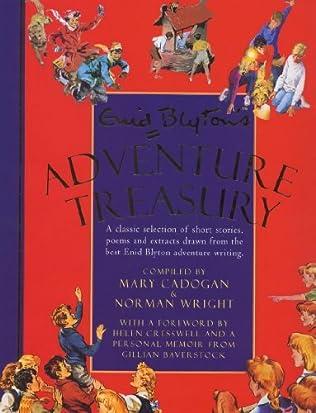 book cover of Enid Blyton\'s Adventure Treasury