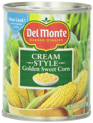 Del Monte Cream Style Corn, 8.25 Ounce (Pack of 12)