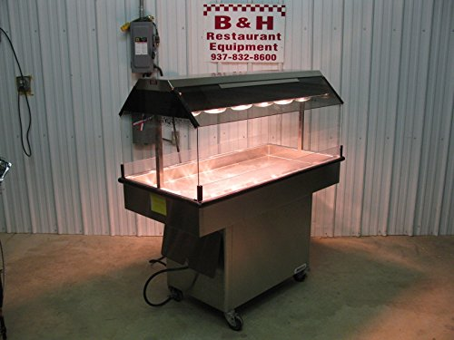 Amfab Ameridiser 4' Chicken Hot Food Merchandiser 48