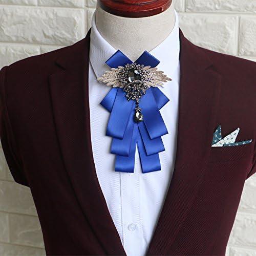 ZLYAYA,corbata,pajarita,Pajarita hombres casados plaid a mano el ...