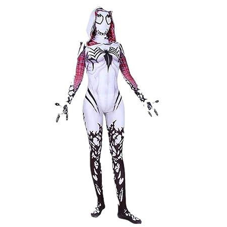 DSFGHE Spiderman Disfraz De Cosplay Actividad De Halloween ...