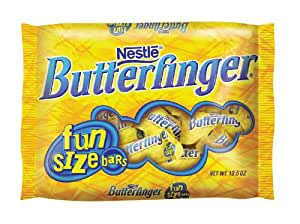 Nestle Butterfinger Funsize, 12.5-Ounce Bags (Pack of 6)