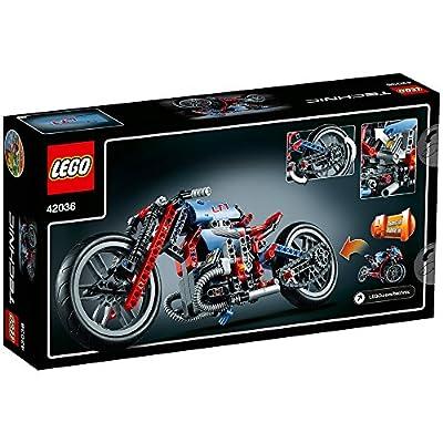 LEGO Technic Street Motorcycle (42036): Toys & Games