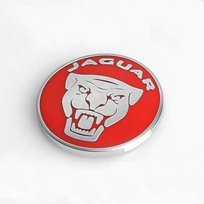 2pcs Jaguar XF XJ XE F-PACE Car-Styling Engine Start Stop Button Cover Cap Trim Wiper lamp Control (red): Automotive