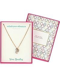 Vera Bradley Unlock Your Adventure Pendant Necklace