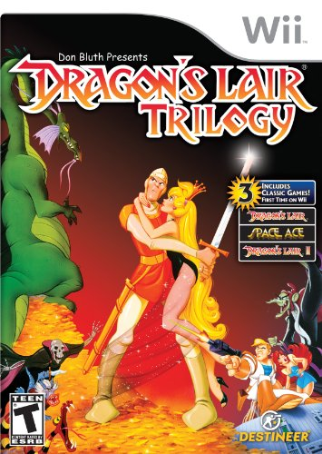 Wii Dragon's Lair Trilogy (Dragon Games For Wii)