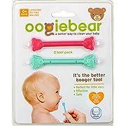 oogiebear Baby Nasal Aspirator - Raspberry and Seafoam