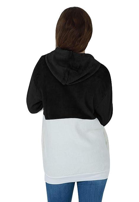 Amazon.com: OMZIN - Sudadera con capucha y forro polar para ...