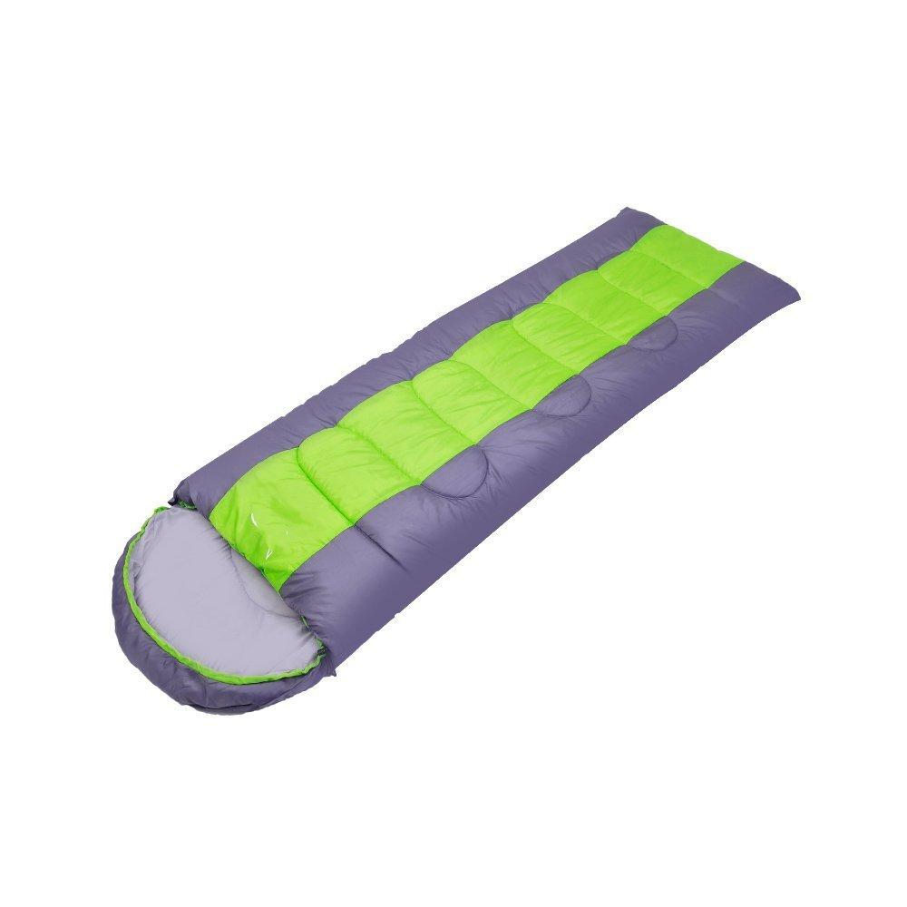 Camping Schlafsäcke, desert fox - serie von outdoor - camping schlafsäcke können gespleißt picknick fahren erwachsene umschlag im schlafsack im frühjahr und winter schlafsäcke mit schlafsack ,Schlafsack ( Farbe   Grün Fruit Fight grau - Right )