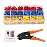 Wire Terminal Crimper Tool with 700pcs Wire
