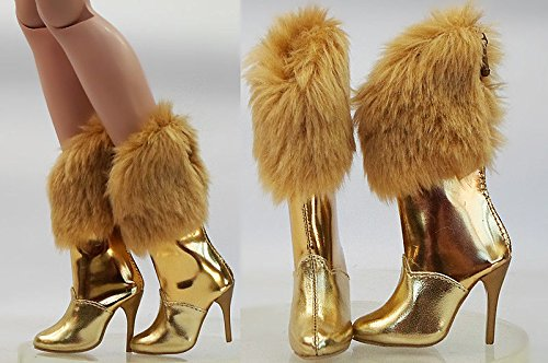 [Doll Shoes Fashion Winter High Heels Boots/Shoes for 22