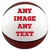 Personalized Custom Photo Regulation Basketball - Any Image - Any Text - Any Logo