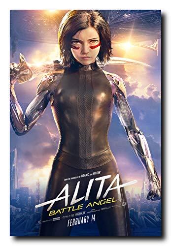 Mile High Media Alita Battle Angel Movie Poster 24x36 Inch Wall Art Portrait - Poster Movie Angel