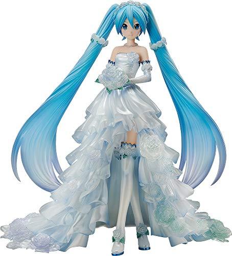 캐릭터 보컬 시리즈 01 하츠네 미쿠 하츠네 미쿠 웨딩 드레스 Ver. 1/7 스케일 PVC 제 페인티드 피규어