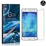 Galaxy J5 2016 Tempered Glass Screen Protector, UNEXTATI® Premium HD [Easy Install] [Anti-Fingerprint] Screen Protector Film for Samsung Galaxy J5 2016 (2 PACK)
