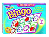 Fun to Know 36-Piece 333 g Learning Telling the Time Bingo Games, White by Fun to Know