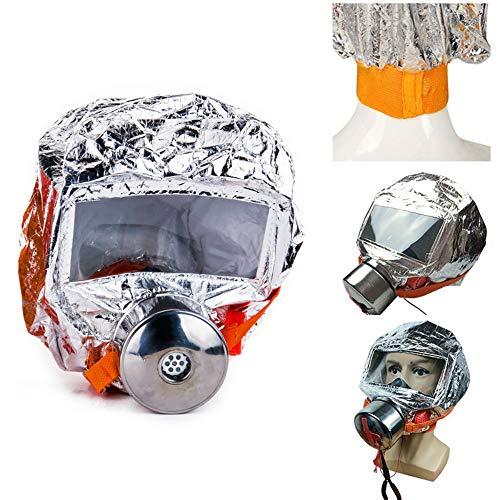 - Safety & Protective Gear Masks, Vinmax 30 minutes Fires Emergency Escape Mask Oxygen Smoke Gas Self-life-saving Smoke Toxic Filter Emergency Escape Respirator Mask (MaskA)
