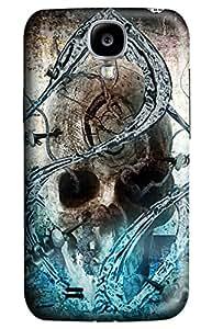 Gothic Skull Design Case for Samsung Galaxy I9500 S4