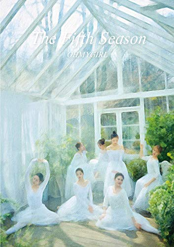 KPOP Oh My Girl - 1st Regular Album, The Fifth Season, Drawing version, CD + Photobook + Photocards + Museum Ticket + POP-UP Card + Folded Poster