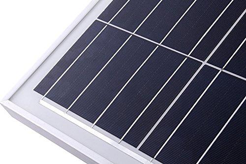 LCS 100 Watt 12 Volt Polycrystalline Solar Panel 100W 12 Volts Battery Charging