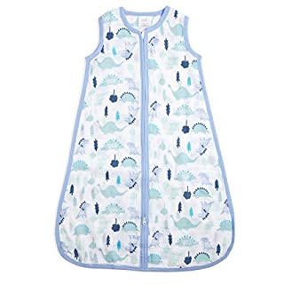 Whether baby's going down for a nap or a full night's rest; sleep peacefully knowing your little one is safe and secure in this adorable wearable blanket. This aden by aden + anais sleeping bag is completely machine washable and a practical infant ga...