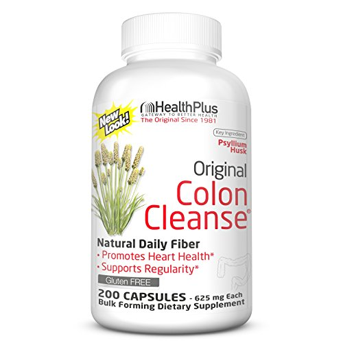 Health Plus Colon Cleanse, 200 Capsules, 33 Servings