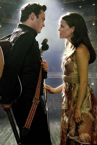 Joaquin Phoenix As Johnny Cash Reese Witherspoon As June