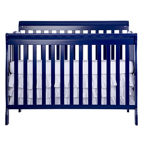 Dream-On-Me-Ashton-Convertible-5-in-1-Crib-Royal-Blue-49-Pound