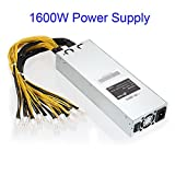 Lznlink 1600W/1800W APW3 Mining Machine Power Supply for Antminer Miner S9 S7