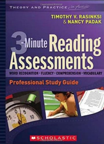 Scholastic 9780545009157 3-Minute Reading Assessments Professional Development DVD and Study Guide, 1.8'' Height, 10.41'' Width, 14'' Length by Scholastic
