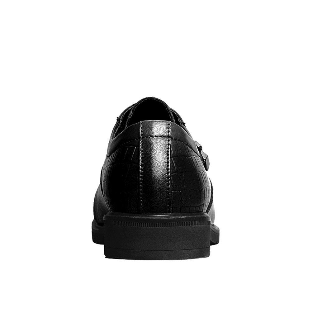 ailishabroy Hommes Low Top Chaussures en Cuir véritable Hommes Luxe Lace Up  Noir Robe Formelle Mariage Oxfords  Amazon.fr  Chaussures et Sacs 98ed32431cc