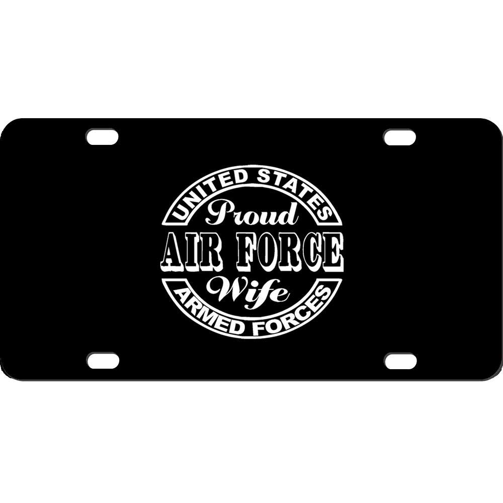 Customized Auto Car Front Tag Aluminum Metal License Plate Cover Great Vanity Gift 12 x 6 Inch