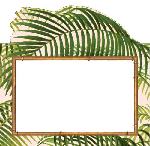 (Luau Party Hawaiian Party Place Cards No Placecard Holders Needed Tropical Palms Pk 16)