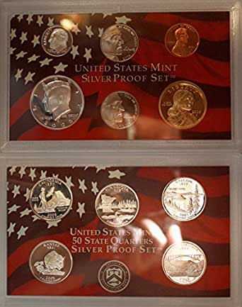 2005 S Silver Proof Set in Original US Government Packaging