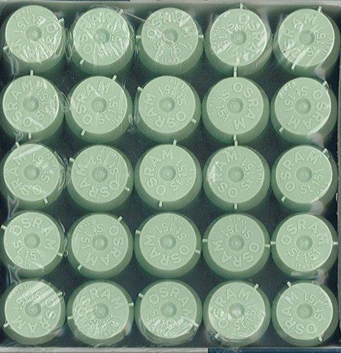 OSRAM Lot de 25 Starters ST151 LONGLIFE pour lampes fluorescentes de 4-22W