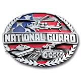National Guard Enamel Pewter Buckle